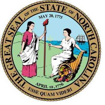 North Carolina Motorcycle Insurance Seal