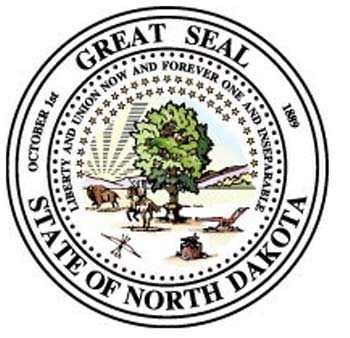 North Dakota Motorcycle Insurance Seal
