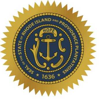 Rhode Island Motorcycle Insurance Seal